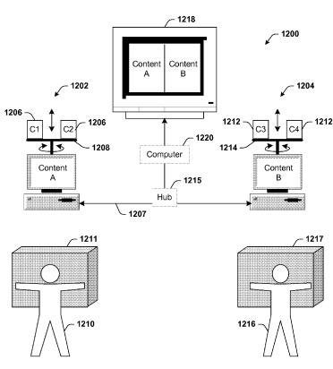 Hand Gesture Microsoft Patent