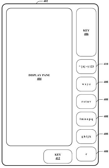 Touch Keyboard Alternative Microsoft patent